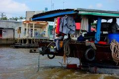 Delta del Mekong Foto de archivo libre de regalías