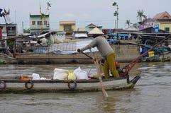 Delta del Mekong del vietnamita fotografía de archivo