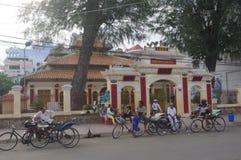 Delta del Mekong en Chau doc. imagen de archivo libre de regalías