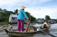 Delta del Mekong, Vietnam Fotografie Stock
