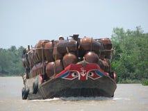 Delta du Mékong Photos stock