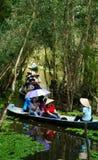 Delta du Mékong, forêt d'indigo de Tra Su, éco-tourisme photos libres de droits