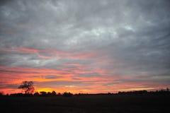 Delta du Mississippi, milliseconde Sunrise de Clarksdale Photos libres de droits