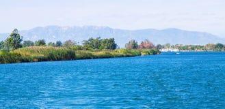 Delta of Ebro river Stock Photography