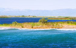 Delta of Ebro river Stock Images