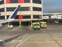 Delta Gate Area at Hartsfield–Jackson Atlanta International Airport Stock Image