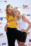 Delta Goodrem,Natasha Bedingfield Stock Photography