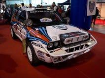 Delta Integrale Milan Autoclassica 2014 de Lancia Photos stock