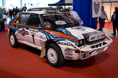 Delta Integrale Milano Autoclassica 2014 de Lancia Fotografía de archivo libre de regalías