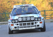 Delta Integrale 16V de Lancia Photos stock