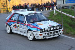 Delta Integrale 16V de Lancia Photos libres de droits
