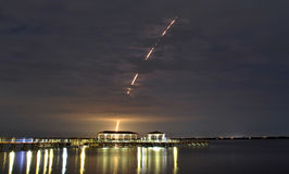 Delta IV launch Royalty Free Stock Photography