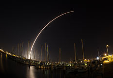 Delta IV launch at Cape Canaveral Royalty Free Stock Photos