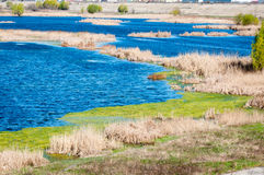 Delta lakes Stock Photography