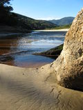 Delta maré do rio Imagens de Stock Royalty Free