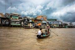 delta mekong Royaltyfri Fotografi