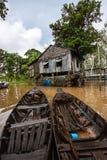 delta mekong Arkivfoton