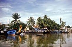 delta mekong vietnam Arkivbilder