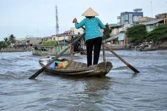 delta mekong vietnam Arkivfoto