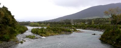 Delta. A peaceful place in New Zealand royalty free stock photo