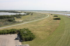Delta pracuje prowincję Zeeland w holandiach Obrazy Royalty Free