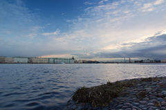 The Delta of the river Neva, Peter and Paul fortress, St. Petersburg ,Russia Royalty Free Stock Image
