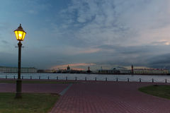 The Delta of the river Neva, Peter and Paul fortress, St. Petersburg ,Russia Royalty Free Stock Photography