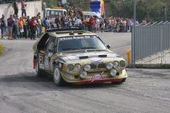 Delta S4 de Lancia Fotografia de Stock