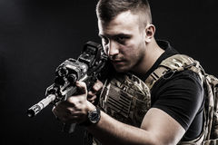 Delta special forces Stock Image