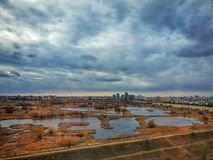 Delta Vacaresti in Bukarest, Rumänien lizenzfreies stockbild