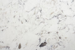Delta White quartz counter macro texture. Delta White quartz macro texture, kitchen worktop close-up Stock Images