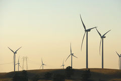 Delta Wind Farm Royalty Free Stock Photo