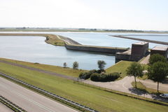 Delta works Province of zeeland in the Netherlands Royalty Free Stock Photos