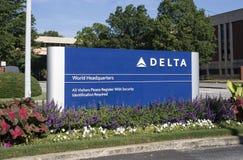 Delta World Headquarters Stock Photos