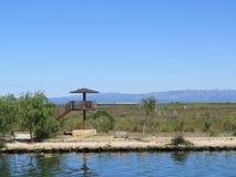 Deltadel Ebro, Catalonië, Spanje Royalty-vrije Stock Afbeelding