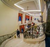 Deltagare av den Huawei partnerskapkonferensen i det Ritz Carlton hotellet Royaltyfria Bilder