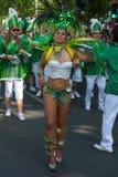 Deltagare på den Karneval deren Kulturen Royaltyfria Foton