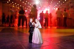 deltagarebröllop Arkivbild