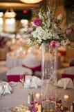 deltagaretabellbröllop Fotografering för Bildbyråer