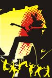 deltagareungdom royaltyfri illustrationer