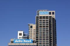 Deltan Lloyd är en holländsk finansiell rådgivningfamiljeförsörjare Royaltyfri Fotografi