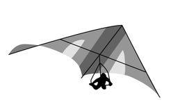 Deltaplane illustration de vecteur