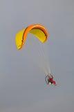 Deltaplane actionné Image libre de droits