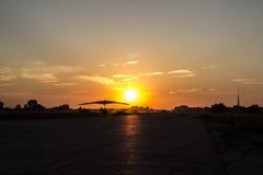 Deltaplane Stock Image