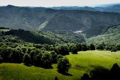 Deltaplaning in Roemenië Royalty-vrije Stock Afbeelding