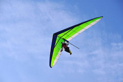 deltaplano飞行滑动 库存照片