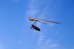 Deltaplano de vol de glissement Photos stock