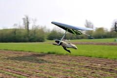 Deltaplano de vol de glissement Images libres de droits