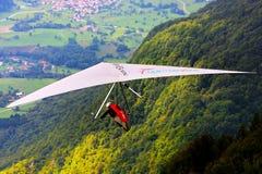 Deltavliegen in Monte Cucco royalty-vrije stock afbeelding