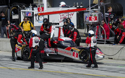 DeltaWing Pit Stop Stock Photography